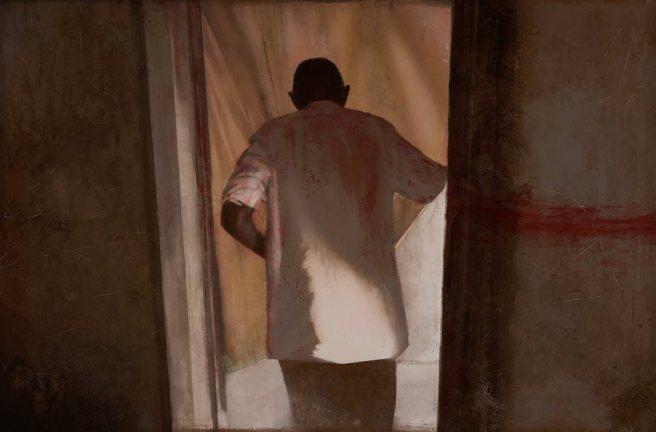سالم بحرون، فن الرعب الليبي. الغرفة الحمراء